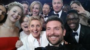 """Das Foto mit den meisten Retweets. Das """"Oscar-Selfie"""""""
