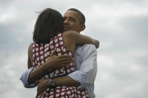 """Obamas Bild zu seinem Tweet """"Four more years""""."""