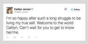 caitlyn jenner tweet weblog #2