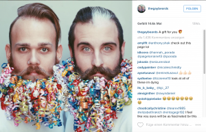 Quelle: https://www.instagram.com/p/8ZG-ACCacj/?taken-by=thegaybeards